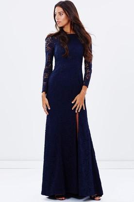 2430caee Long Sleeve Bridesmaid Dresses | Sleeved Bridesmaid Dresses ...
