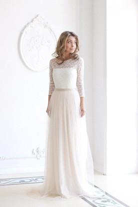 ca9e49a74691 Bohemian Wedding Gowns | Boho Style Wedding Dresses - UCenter Dress