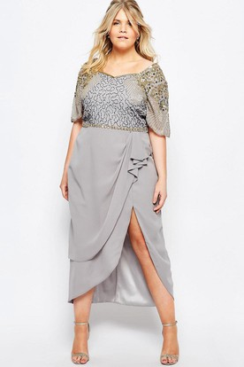 Cheap Plus Size Wedding Guest Dresses - UCenter Dress