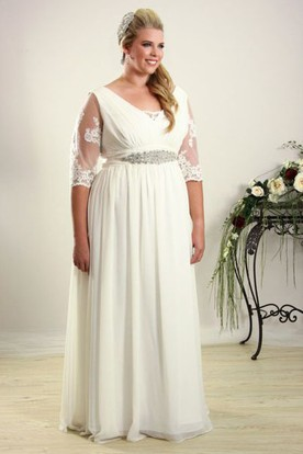 Cheap Plus Size Wedding Dresses Under 100 - UCenter Dress