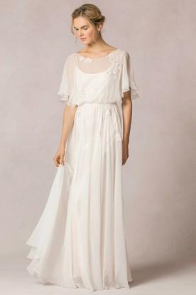 Boho Wedding Dress Ucenter Dress