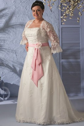 Plus Size Wedding Dresses With Sleeves | Sleeved Plus Size ...