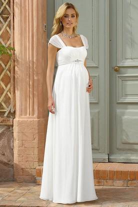 8c243008aada97 Maternity Wedding Dresses | Pregnant Bridal Dresses - UCenter Dress