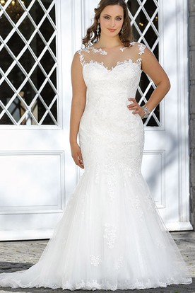 Inexpensive Plus Size Wedding Dresses - UCenter Dress