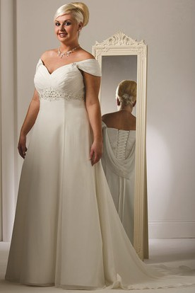 Plus Size Summer Wedding Dresses   Summer Wed Gowns ...