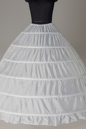 e2d10178d1 Super Large Fluffy And Ground Boneless 2 Layer Net 6 Steel Ring Wedding  Skirt Petticoat