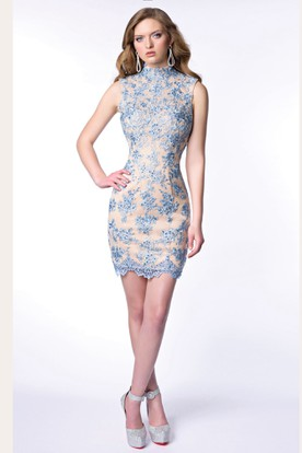 Short Tight Lace Homecoming Dresses Ucenterdress
